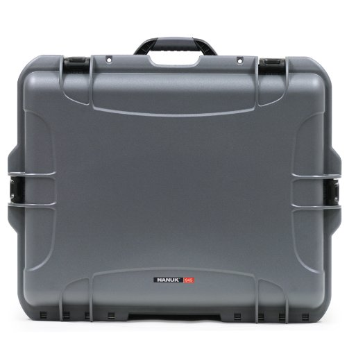 Nanuk 945 Waterproof Hard Case with Padded Dividers - Graphite