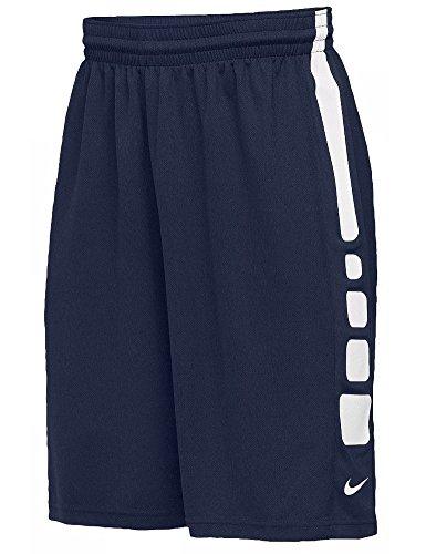 Nike Men's Team Elite Practice Basketball Shorts 802329 420 Navy Blue Size L