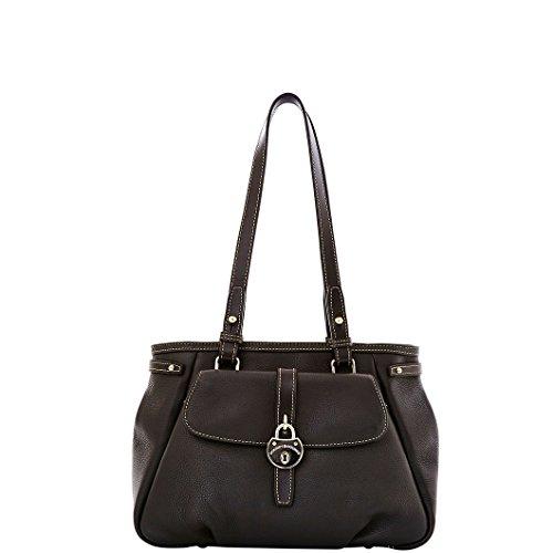 Belted Shopper Handbag (Dooney & Bourke Samba Shopper (Black))