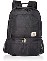 2-in-1 Insulated Cooler Backpack, Black