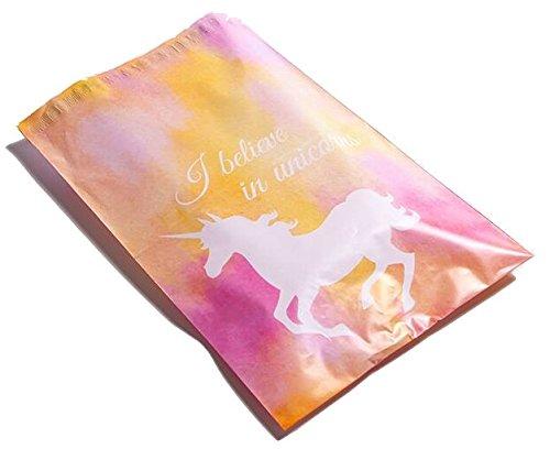 Designer Mailers Unicorn Yellow Green product image