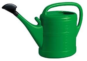 Siena Garden - Regadera de plástico (14 litros), color verde