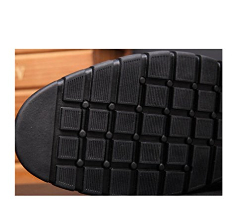 Colori Scarpe da Antiscivolo da Morbido Cinturino Stagione Tondo Spiaggia zmlsc Black Sport Trekking Cashmere A Casual Uomo Morbido aR4xxdP
