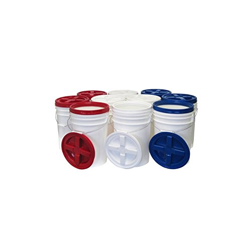Augason Farms Storage Pails - 10 pk. by Augason Farms