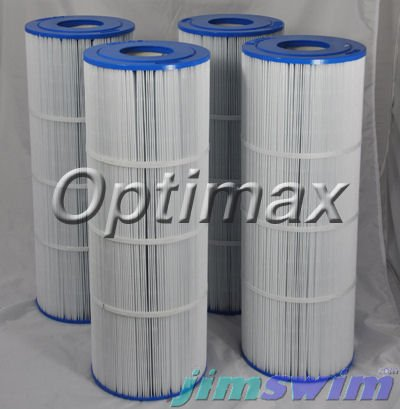 Unicel 4 C-7483 Spa Replacement Filter Cartridges 81 Sq Ft Hayward Swim Clear ()