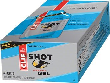 Clifbar Clif Shot Energy Gel - 24 Pack Vanilla, One Size
