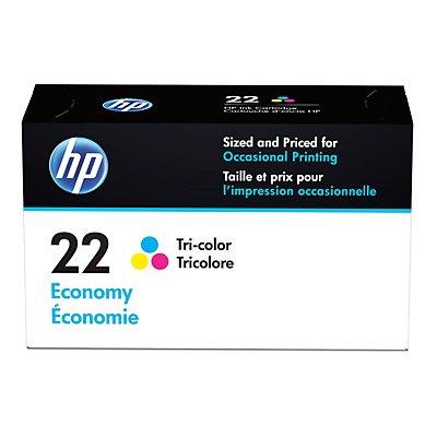 HP 22 B3B19AN Economy Tri-color Original Ink Cartridge