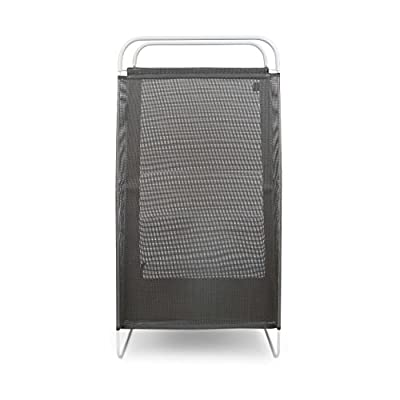 Umbra Cinch Laundry Hamper with Removable Mesh Laundry Bag for Easy Cleaning and a Lightweight Flexible Frame for Easy Carrying - THE LAUNDRY BASKET REIMAGINED: A modern take on the old-fashioned plastic laundry basket, Cinch is a free-standing laundry hamper with a flexible frame and removable mesh laundry bag LIGHTWEIGHT & EASY TO CARRY: Unlike traditional laundry hampers that are bulky and difficult to haul around, Cinch features a lightweight flexible steel wire frame that comes together to create a handle making it easy for you to carry EASY TO CARE FOR: Cinch features an integrated mesh laundry bag that's breathable and easy to remove so it can easily be wiped down with a damp cloth, or thrown in the washing machine - laundry-room, hampers-baskets, entryway-laundry-room - 41S0fB6 RlL. SS400  -