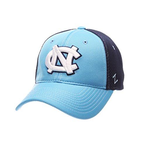 (NCAA North Carolina Tar Heels Men's Rally Z-Fit Cap, Medium/Large, Light Blue/Navy)
