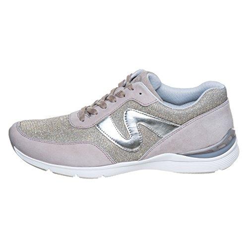 12 64 de Gabor mujer para Zapatos cordones Beige 300 qvCnwH
