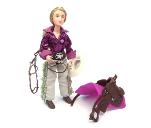 Breyer Classics Kaitlyn Cowgirl - Rider for Classics Toy Horses (1: 12 Scale), 6