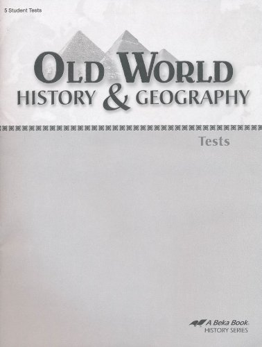 Old World History and Geography student tests grade, used for sale  Delivered anywhere in USA