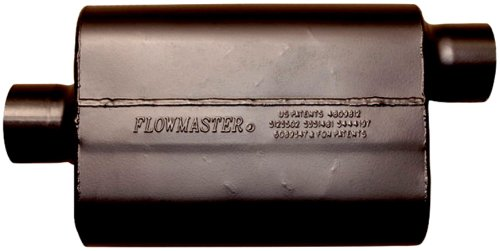 Flowmaster 943047 Super 44 Muffler - 3.00 Center IN / 3.00 Offset OUT - Aggressive Sound by Flowmaster (Image #2)