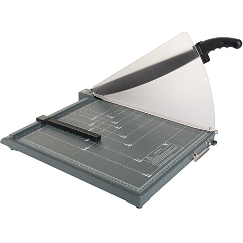 JLS Professional Guillotine Paper Trimmer,Paper Cutter with safety guard, 17