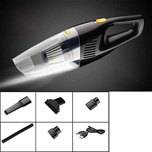 HL-TD Aspirateur De Voiture 5000PA Forte Aspiration Filtre d\'alimentation DC 12V 120W USB De Charge De Batterie Double Multifonctionnel