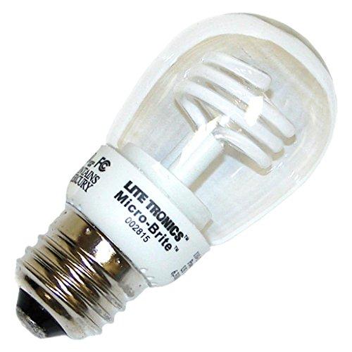 Litetronics MicroBrite MB-200 - 2 Watt CCFL Light Bulb - ...