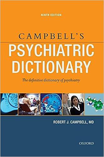Campbells psychiatric dictionary 9780195341591 medicine campbells psychiatric dictionary 9th edition fandeluxe Choice Image