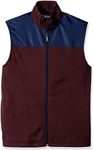 - IZOD Men's Spectator Fleece Vest, Bone fig, Small