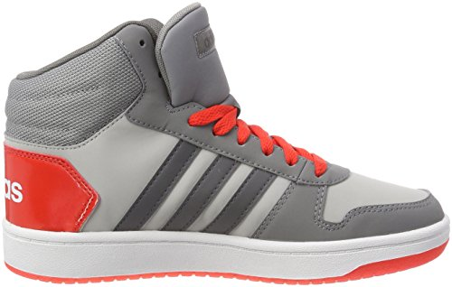 000 Unisex Hoops Mid Fitnessschuhe Gricin Kinder 2 Gridos Roalre 0 adidas Grau Pq7pRxH