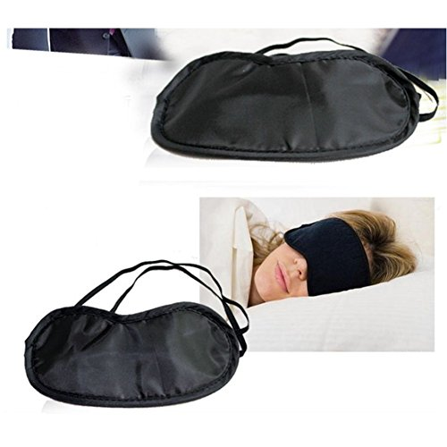 Set Mask Travel Y Eye Aikesi Plug negro Ear Sleep tBO0qSqw