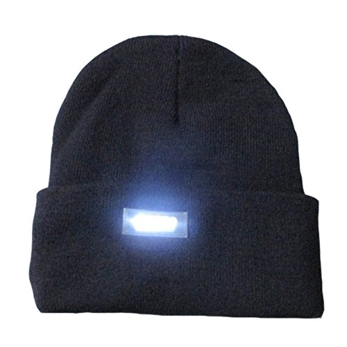 Ski Hat With Led Light - 1
