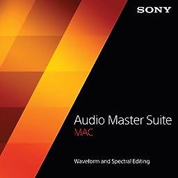 Sony Audio Master Suite Mac [Download]