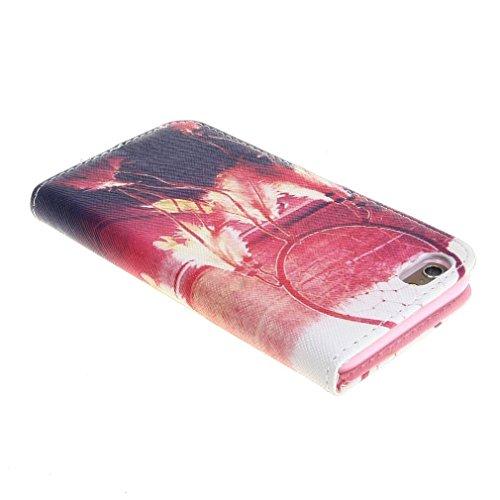 Schön Dream Catcher Printed Magnetisch Style Beutel PU Leder Stehen Tasche Hülle Schale Schutzhülle Case Cover für Apple iPhone 6 4.7 Zoll