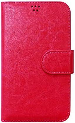 LG style L-03K 手帳型 ケース エナメル素材 高級レザー スマホケース エルジー スタイル L03K 手帳 カバー HOTPINK ホットピンク