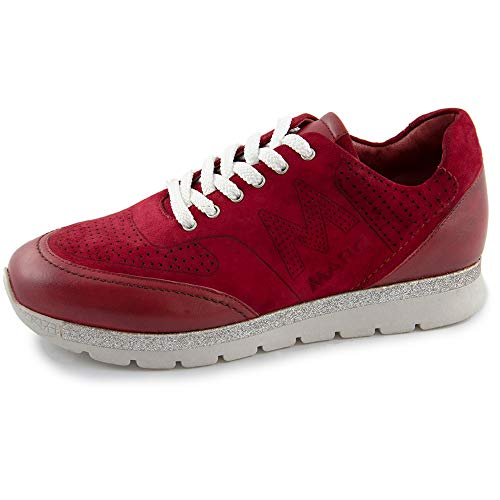 Shoes sheep da Liv rosse Sneakers donna suede 00789 Red Red Marc Swg1xqg