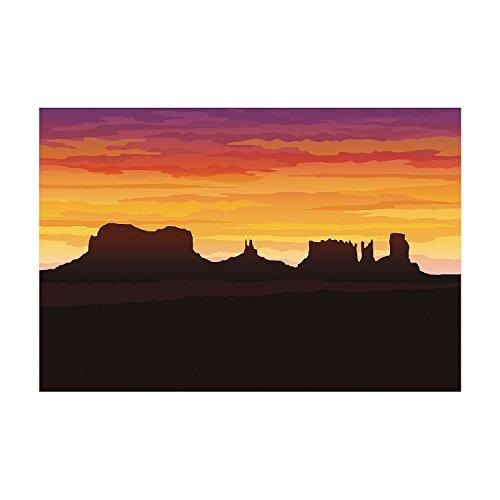 (3 Pc. Western Desert Backdrop)