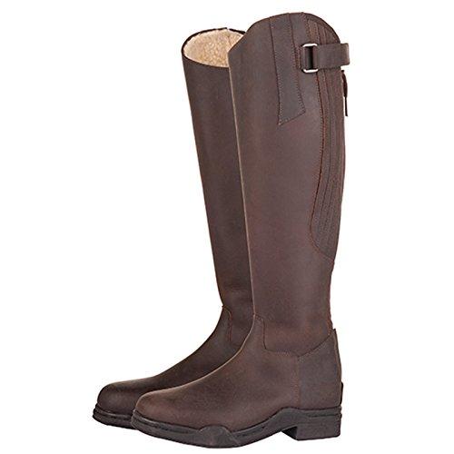 Hkm Signore Country Artic Leather Equitazione Stivali Lunghezza Standard Larghezza (marrone, Euro 41 Uk 7)
