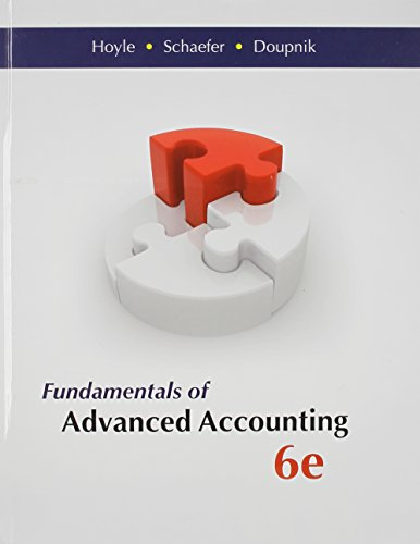 advanced accounting access - 9