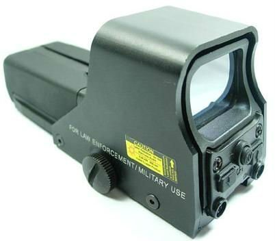 Red/Green Dot 552 Holo Holographic Tactical Scope Vision Sight (Shock and Rain Proof), Outdoor Stuffs
