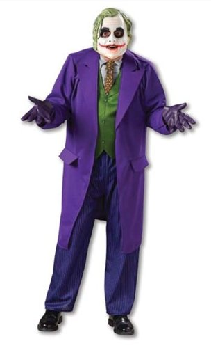 Halloween FX Joker Deluxe Men's Costume (Standard) -