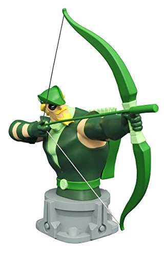 Diamond Select Toys Justice League Unlimited: Animated Green Arrow Bust