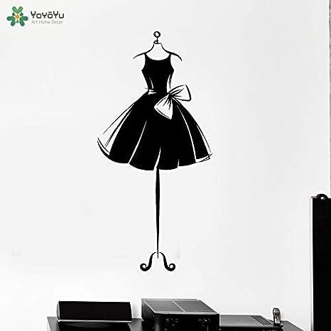 57x120cm Moda Mujer Falda vinilo pared Wall Decal Sticker ...