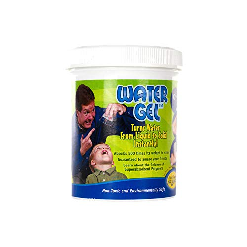 Steve Spangler's Water Gel, 100g Jar, Sodium Polyacrylate, Make Water Disappear! (Sodium Polyacrylate Powder)