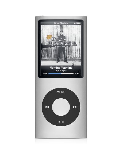 Apple iPod nano 8 GB Silver (4th Generation)  (Discontinued by Manufacturer) (Ipod Nano Gadgets)