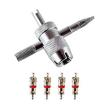 Llave de válvula JAIS, llave de núcleo de válvula, llanta de válvula, herramienta