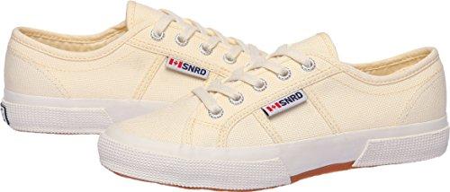SNRD  SN107,  Damen Sneaker Low-Tops Beige