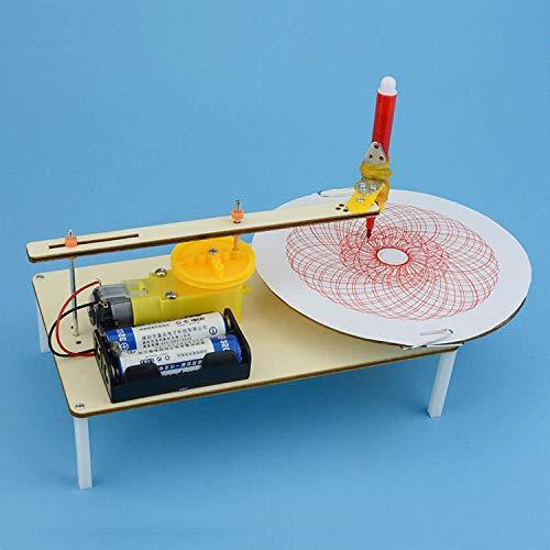 TOOGOO DIY Assembled Kits Graffiti Simple Science Gizmo Physics Experiment Electric