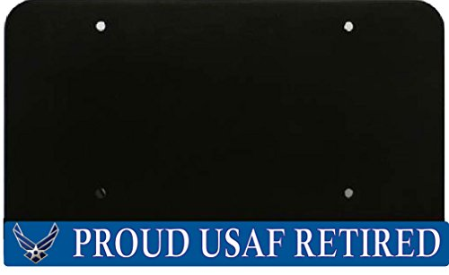 usaf retired license plate frame - 5
