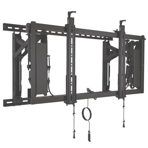 Chief LVS1U ConnexSys Video Wall Landscape Mounting System with Rails, 150 lb Weight Capacity, 21.8