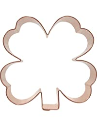Bargain Clover Shamrock Copper Cookie Cutter compare