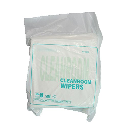 "Calunce Ordinary Polyester Cleanroom Wipes Reused Wipes 9""×9"",150 PCS"