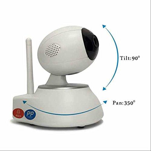 HD 720p Indoor WiFi Überwachungskamera PIR Nachtsichtmodus,Zoom und Fokus,Aufnahme funktion,bidirektionaler Sound,drahtlos Alarmanlagen,Remote-Wiedergabe
