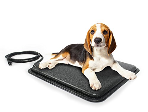 "Milliard Indoor/Outdoor Heated Pet Pad - 18x18"" with Fleece"