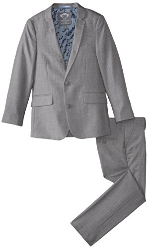 Appaman Big Boys' Two Piece Classic Mod Suit, Mist, 12 by Appaman