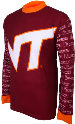 NCAA Virginia Tech Hokies Mountain Bike Cycling Jersey (Team, X-Large)