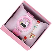 Scicalife Kids Digital Watch Kids Digital Sport Watch Kid Sports Outdoor LED Electrical Watches for Girl/Boy